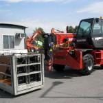 Rentiranje mašina | Telehendler Manitou MRT 1432 | mašina napred