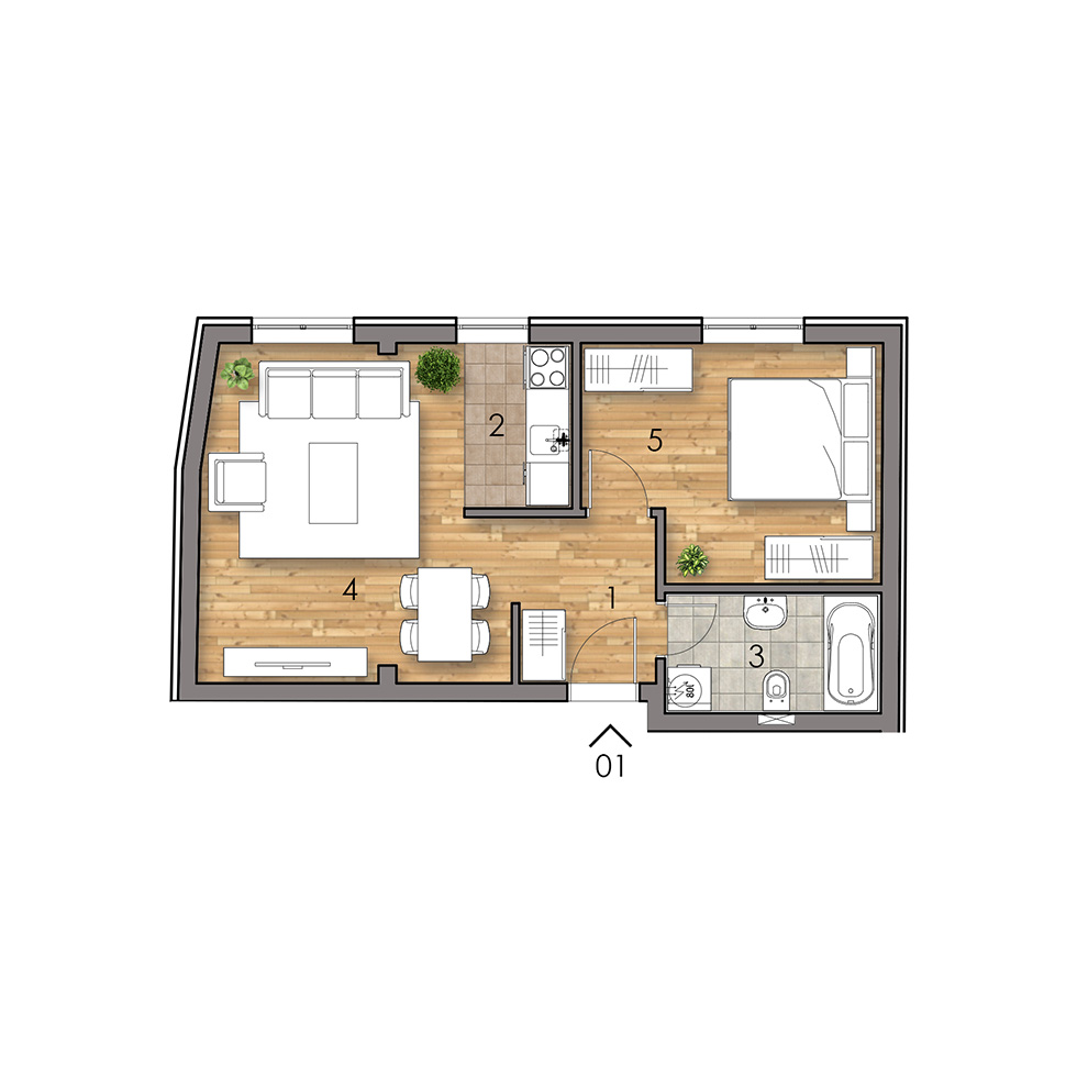 Stan 1 | SVETOJOVANSKA 3 | Prodaja stanova
